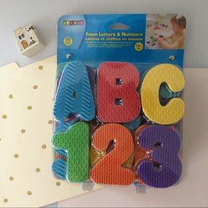 🆕 Foam Letters & Numbers